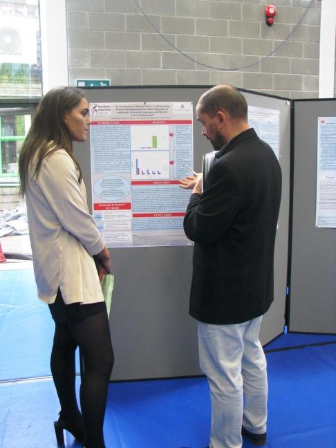 Orlaith McGrath and Dr. Ciarán MacDonncha