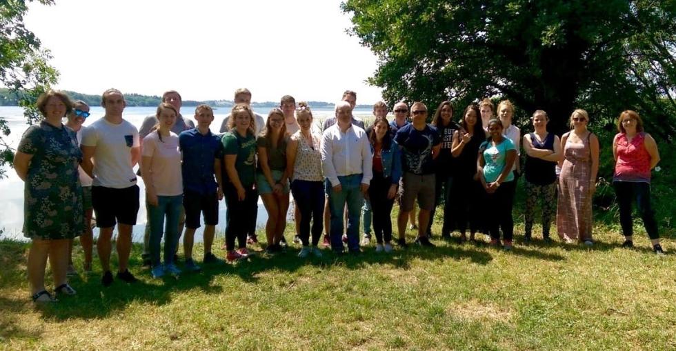Summer School Participants at Clarisford Park, Killaloe