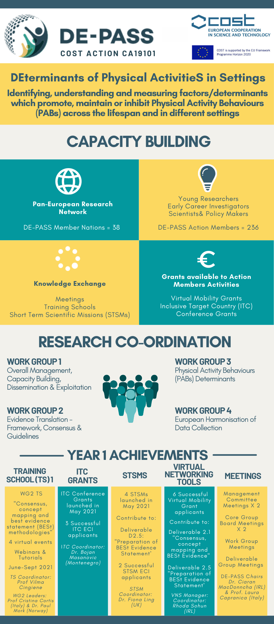 DE-PASS Infographic Year 1